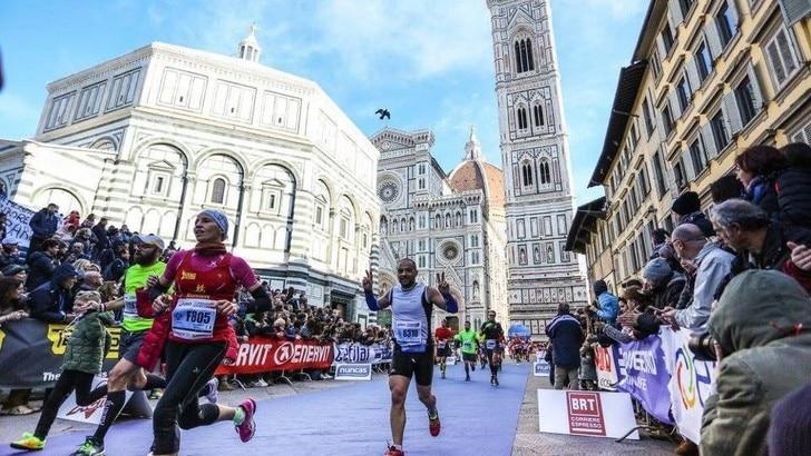 La carica dei 10mila e di Alex Zanardi alla Firenze Marathon