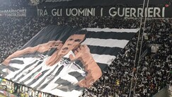 Juventus-Barcellona, la coreografia è dedicata a Mandzukic