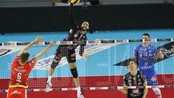 Volley: Superlega, Civitanova travolge Ravenna nel recupero della 2a giornata