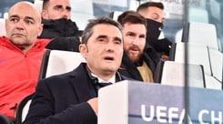 Valverde: «Con la Juve è sempre dura, Messi doveva riposare»