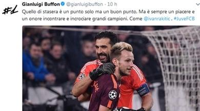 Juventus-Barcellona, cosa hanno scritto i bianconeri sui social?