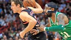 Gli Heat fermano i Celtics. I Thunder schiantano i Warriors. Ok i Cavs
