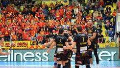 Volley: Superlega, domani sera l'anticipo della 9a fra Tonno Callipo e Azimut