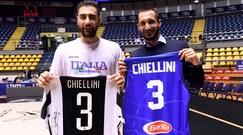Juventus, Chiellini carica l'Italbasket: obiettivo Mondiali 2019