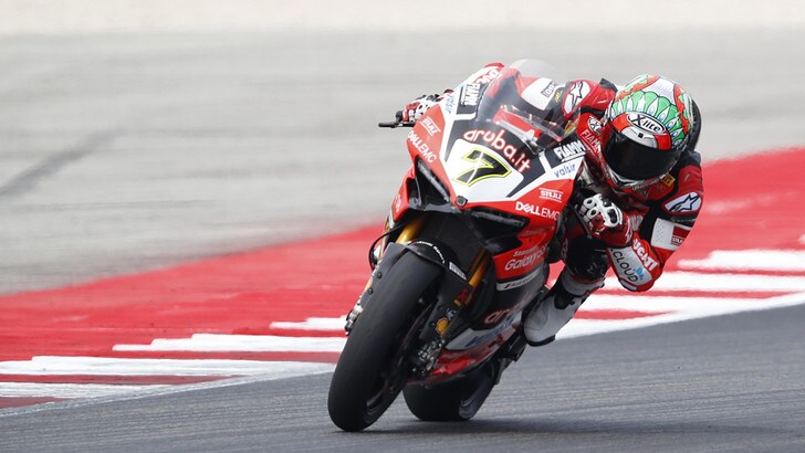 SBK Ducati, Davies: «Ricomincerò tra qualche settimana»