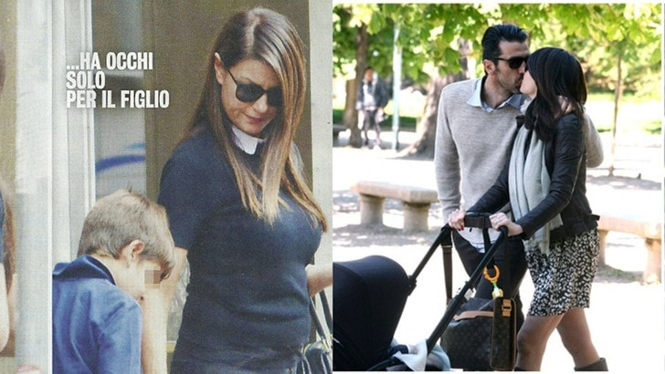 Buffon e Ilaria D'Amico, nuova cicogna in arrivo per la coppia?