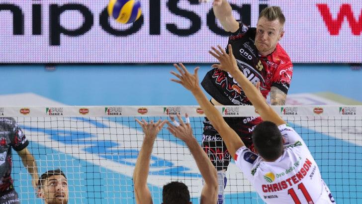 Volley: Superlega, Civitanova-Perugia, le prime due si sfidano all'Eurosole