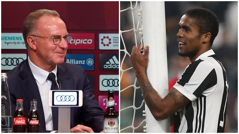 Rummenigge sicuro:«La Juventus riscatterà Douglas Costa». Ecco le cifre...