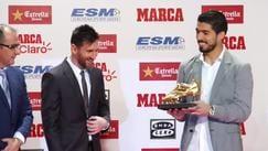 Scarpa d'Oro a Messi, la premiazione