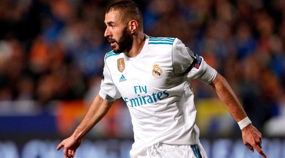2. Benzema, Real Madrid, 1 miliardo
