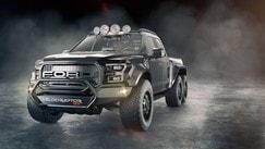 Gli inarrestabili: i SUV a sei ruote motrici