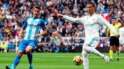 Liga: il Real Madrid soffre ma riesce a battere il Malaga