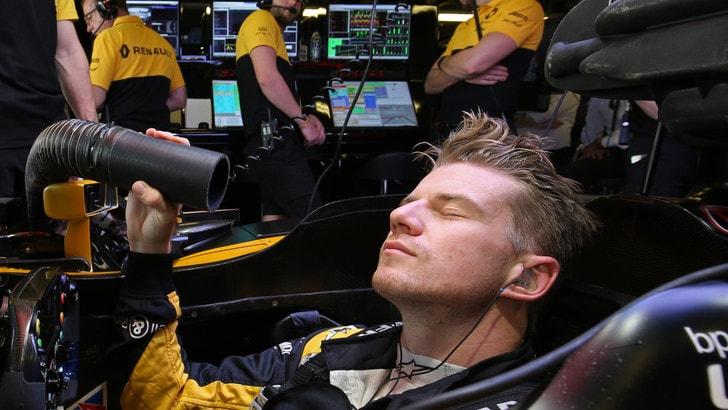 F1 Renault, Hulkenberg: «Molto soddisfatto delle qualifiche»