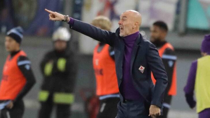 Serie A Fiorentina, Pioli: «Il rigore c'era. Risultato giusto»