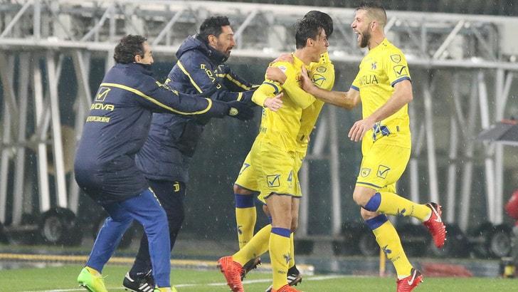 Coppa Italia: Chievo batte Hellas in lavagna