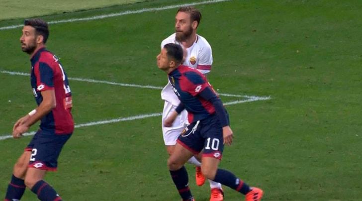 Serie A, Giudice Sportivo: due turni a De Rossi, multata la Juventus
