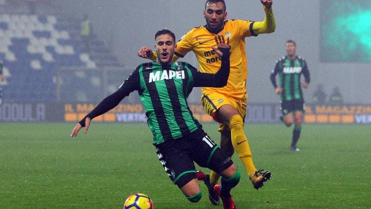 Coppa Italia: Sassuolo-Bari, neroverdi avanti a 1,80
