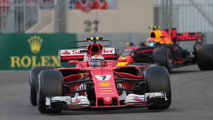 F1, Abu Dhabi: Raikkonen primo nei test