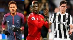 Calcio, ecco la top ten dei salari: c'è anche la Juventus