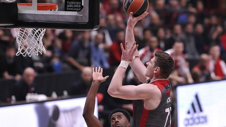 Basket, Eurolega: Efes-Milano, missione «2» a 2,55