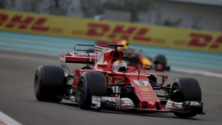 F1, test Abu Dhabi: nel day 2 sfreccia Vettel