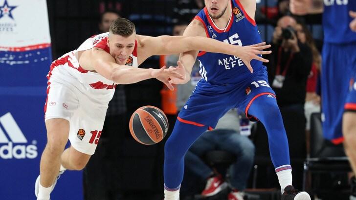 EuroLeague: Stimac gela l'Olimpia nel finale