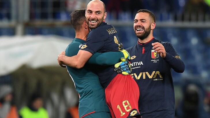 Coppa Italia, Genoa-Crotone 1-0: agli ottavi c'è la Juventus