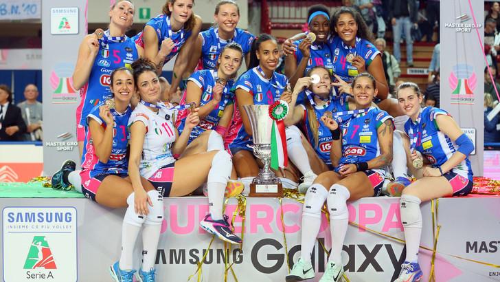 Volley: A1 Femminile, quattro premi del Coni per l'Igor Novara