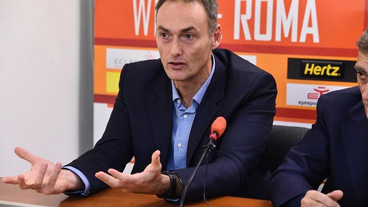Serie A2, La Virtus Roma presenta Bechi: