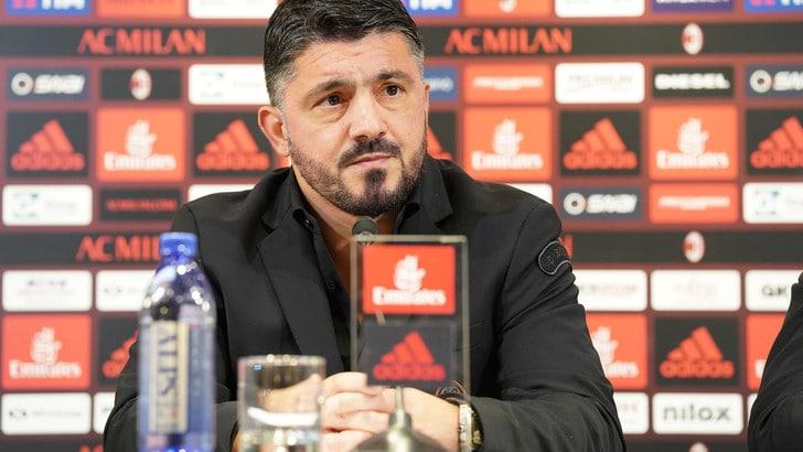 Milan: Gattuso, vittoria all'esordio col Benevento a quota 1,38