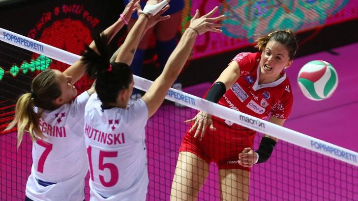 Volley: A1 Femminile, Bergamo lascia l'ultimo posto