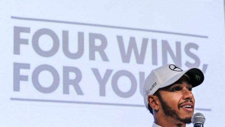 F1, Hamilton: «I più forti in pista: io, Alonso, Verstappen e Vettel»