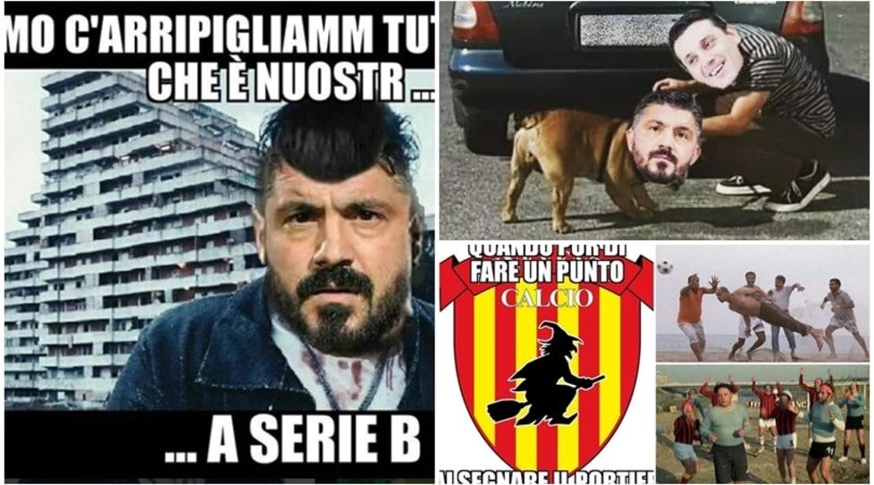 Sul web dilagano le ironie sulla rete del portiere che ha beffato il Milan di Gattuso e regalato il primo storico punto in A del Benevento