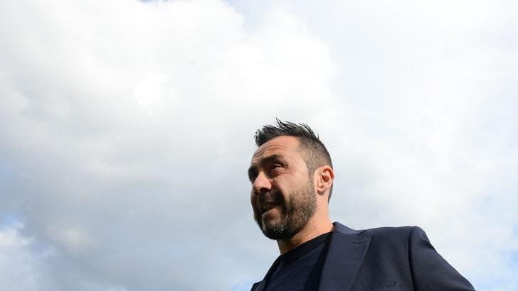 Serie A Benevento, De Zerbi: «Complimenti ai ragazzi»