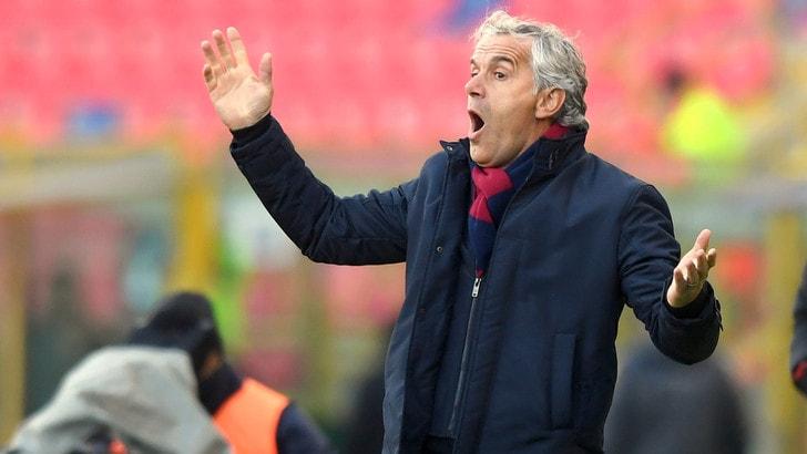 Serie A Bologna, Donadoni: «Cagliari? Occasione sprecata»