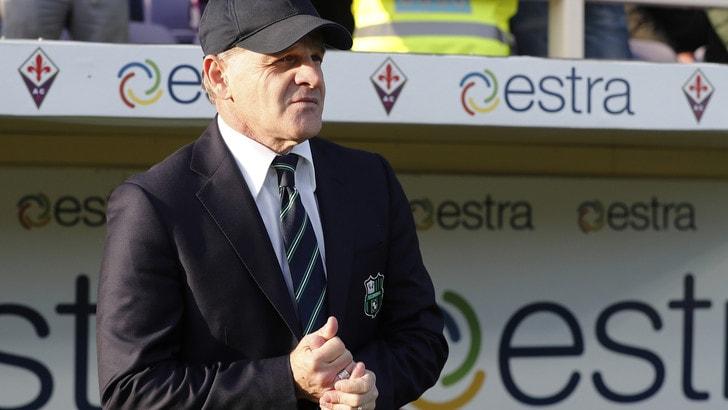 Serie A Sassuolo, Iachini: «Non butto tutto, ci serve tempo»