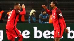 Bundesliga: segna Boateng, l'Eintracht batte l'Hertha