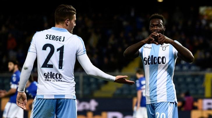 Serie A, Sampdoria-Lazio 1-2: rimonta biancoceleste con Milinkovic e Caicedo