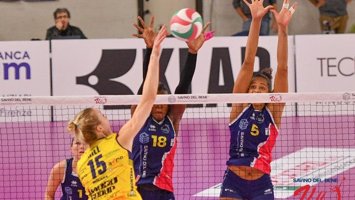 Volley: A1 Femminile, l'Imoco espugna Scandicci, Novara cade a Monza