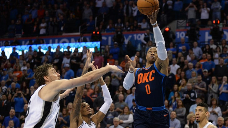 Westbrook scuote i Thunder, Golden State passa a Miami