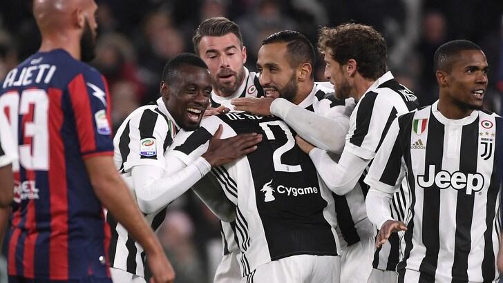 Juventus, il bolide di De Sciglio è il gol del mese