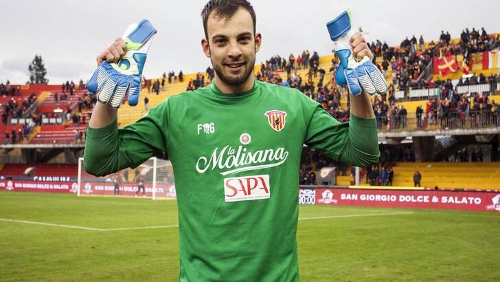 Serie A Benevento, Brignoli: «Un giorno spero di tornare alla Juventus»