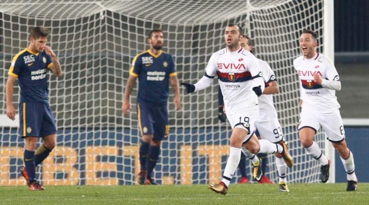 Serie A, Hellas Verona-Genoa 0-1: Pandev decide la sfida salvezza al Bentegodi