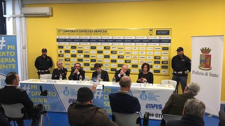 Volley: presentata a Modena la tappa di
