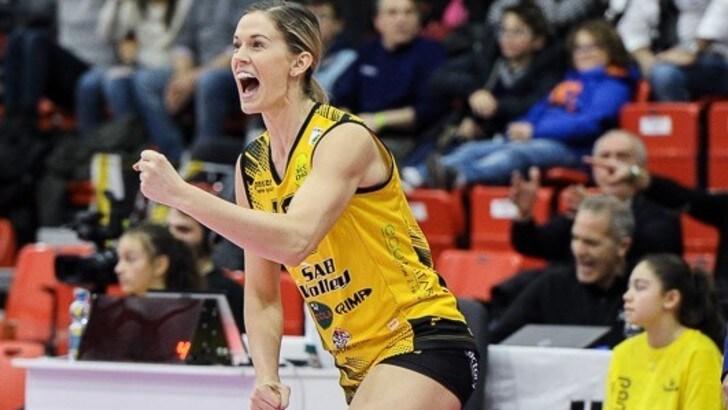 Volley: A1 Femminile, si separano le strade di Legnano e Annie Drews