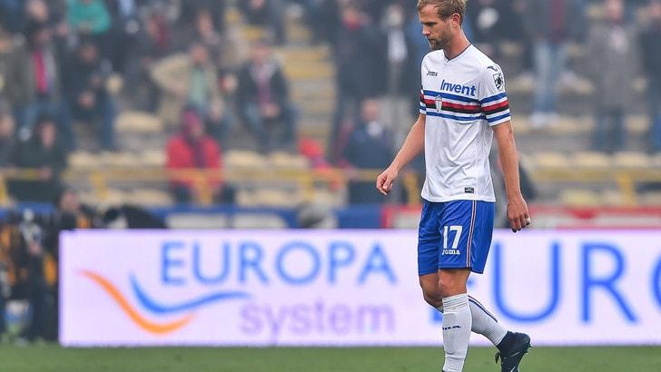 Serie A Sampdoria, Strinic e Linetty lavorano a parte