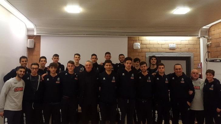 Volley: Sergio Brio si racconta ai giovani del Club Italia