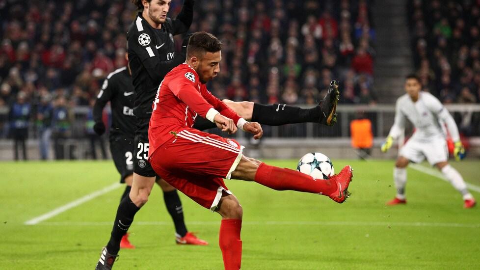 Corentin Tolisso protagonista del match dell'Allianz Arena. In rete ancheLewandowski e Mbappé