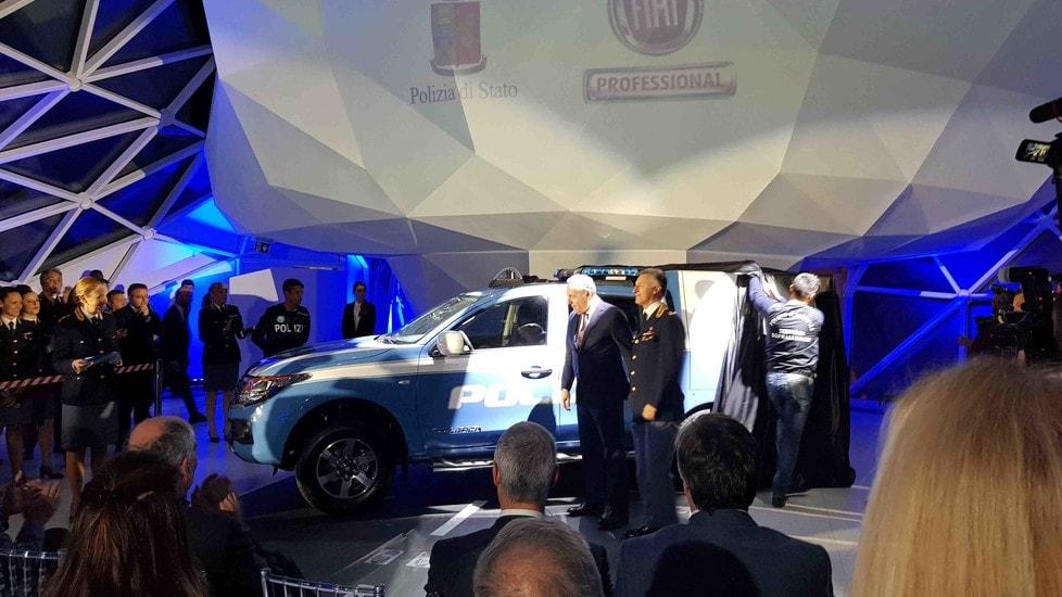 Consegnato a Roma il primo Fullback by Fiat Professional perfettamente attrezzato per le indagini più complesse