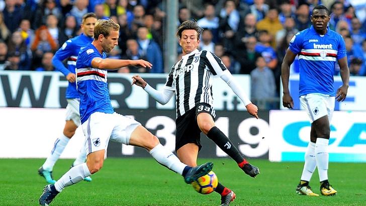 Serie A Sampdoria, Strinic si allena in gruppo